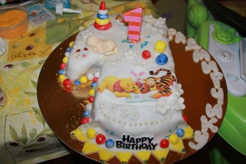Своими руками торт на 1 год
