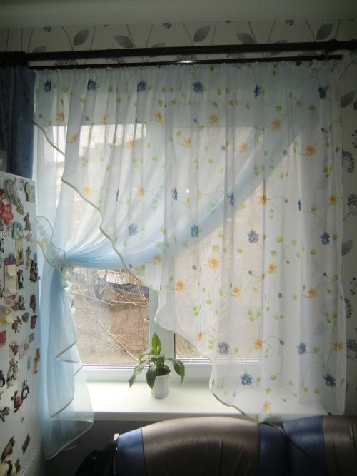 Ночные шторы на кухню
