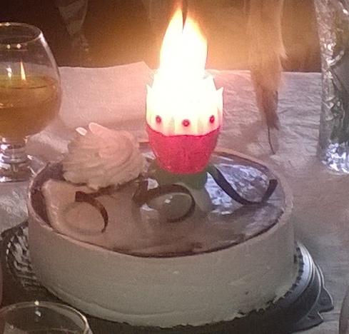 Шоколадный торт с панакотой фото 8
