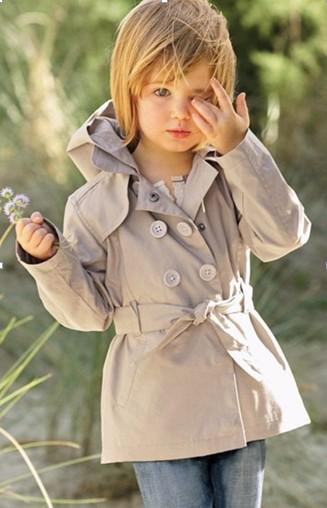 Детский тренч фото