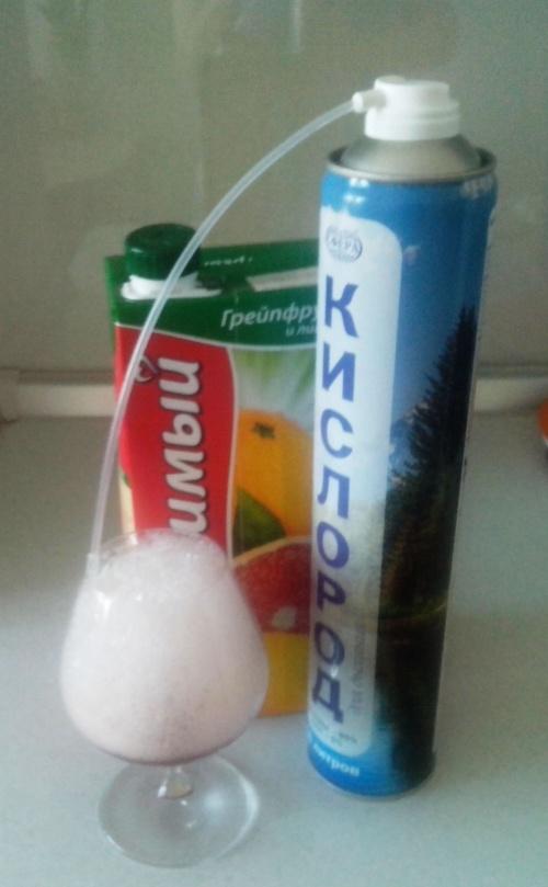 Как сделать кислородный коктейль в домашних условиях