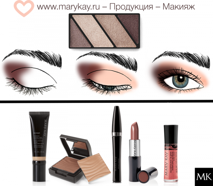 картинки с макияжем глаз мэри кей былого великолепия осталась