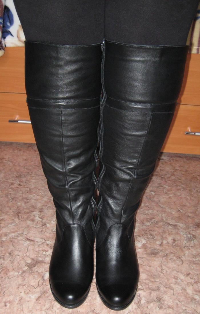 Смотреть сапоги на полную ногу